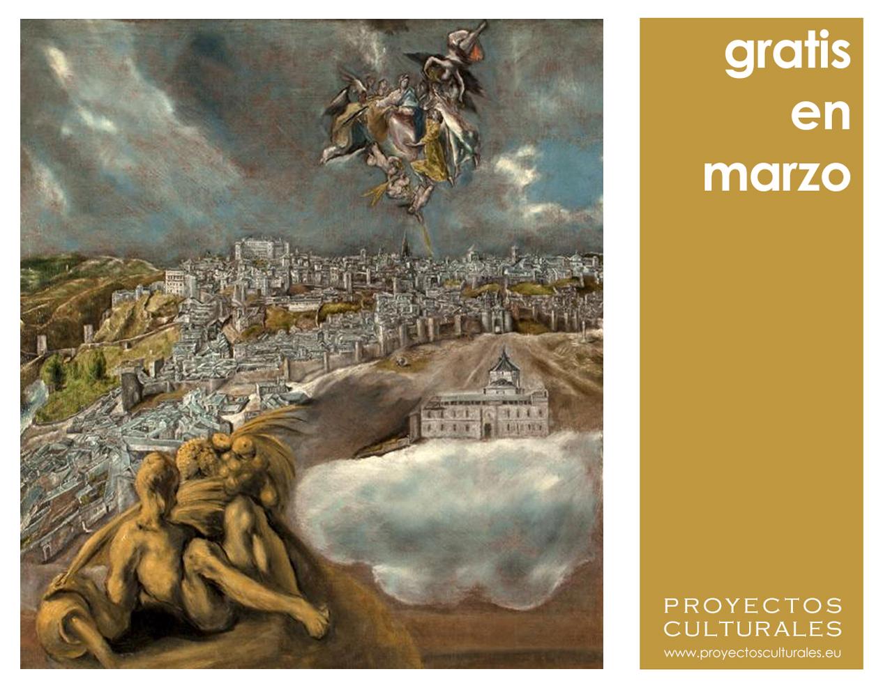 Gratis en marzo Visita Toledo Gratis Proyectos Culturales www.proyectosculturales.eu