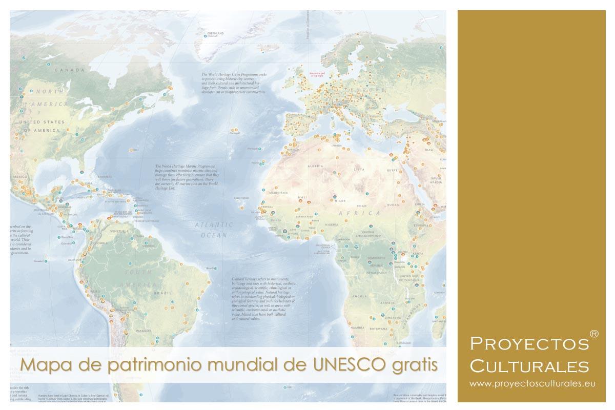 Mapa patrimonio mundial