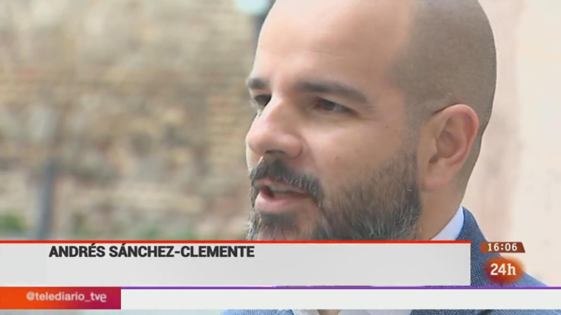 Andrés Sánchez-C en RTVE   Proyectos Culturales