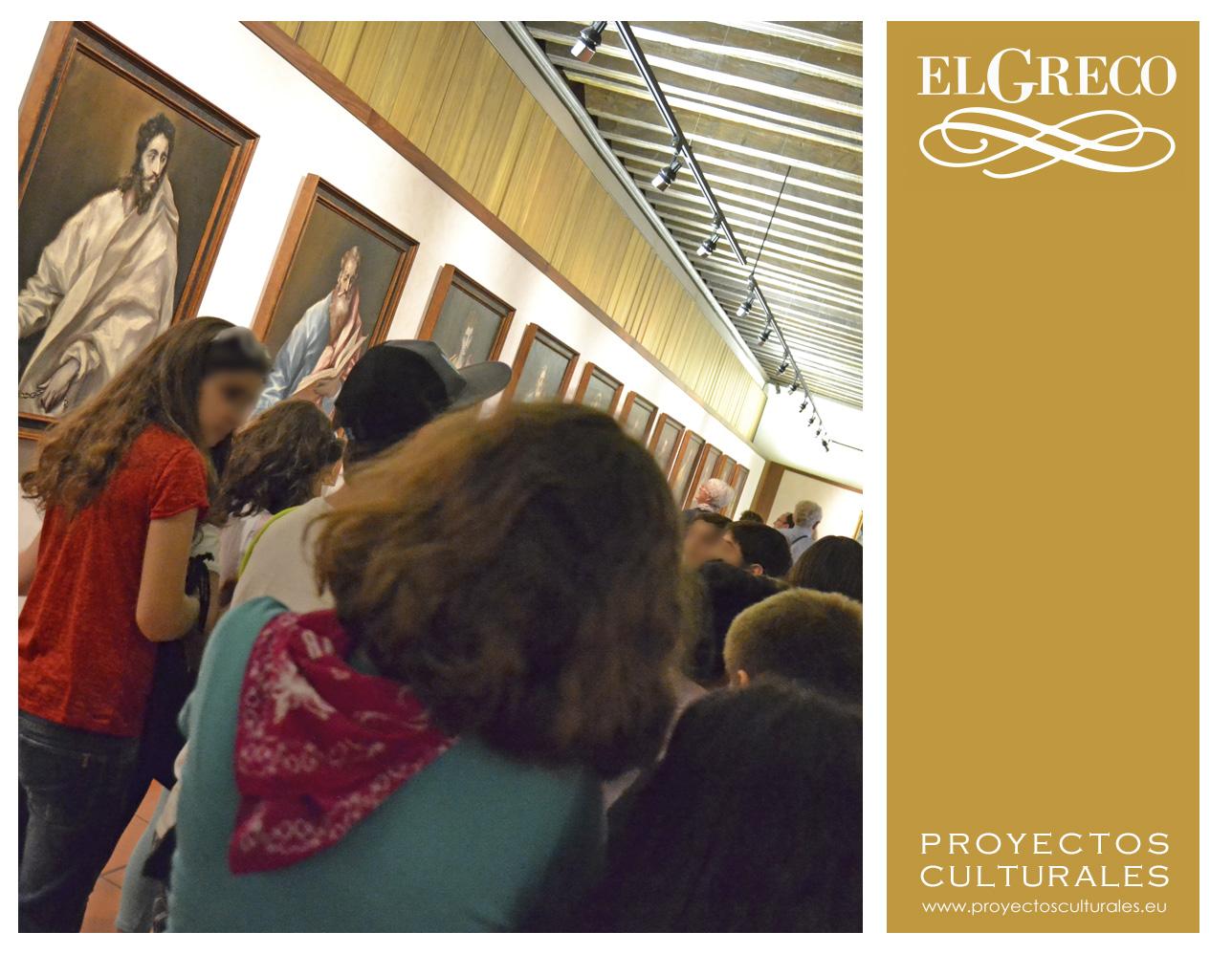 Compartimos con vosotros imágenes de la actividad didáctica Las calles del Greco, realizadas este curso 2013/14, coincidiendo con el IV Centenario del Greco