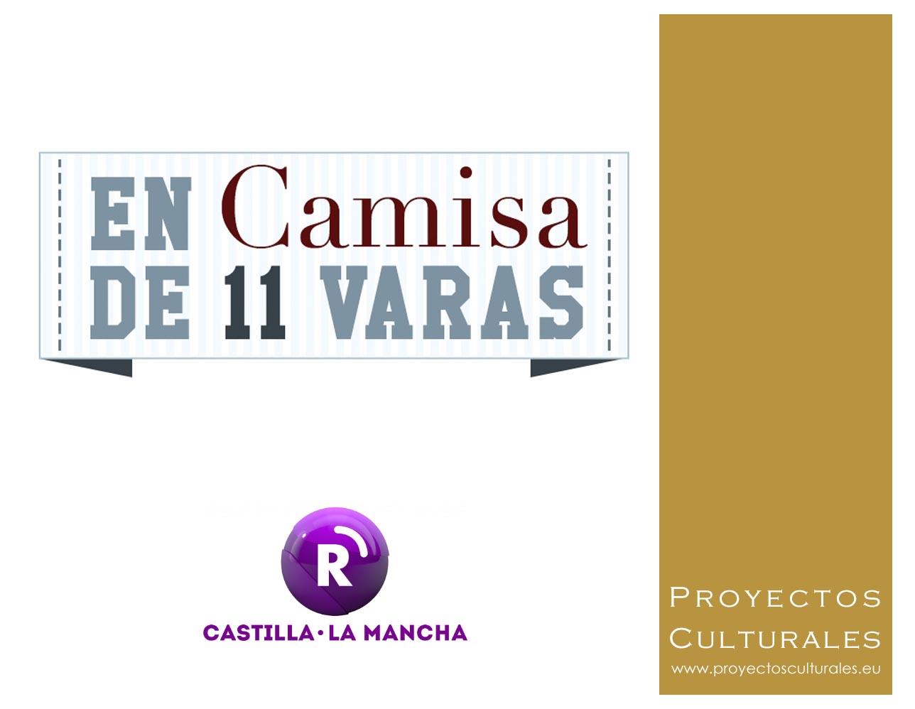 Toletum, entrevista en radio Castilla - La Mancha Programa Camisa de 11 Varas