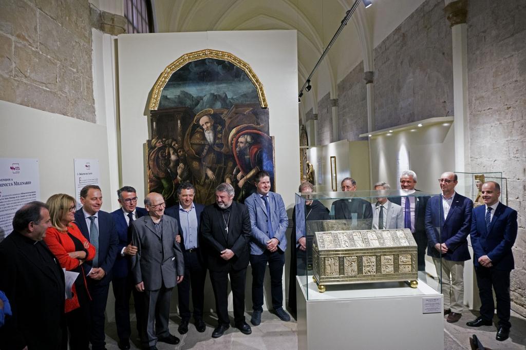 Inauguración Dominicus Milenario - Proyectos Culturales | Gestión del patrimonio cultural | Proyectos, actividades y formación | Exposición de arte