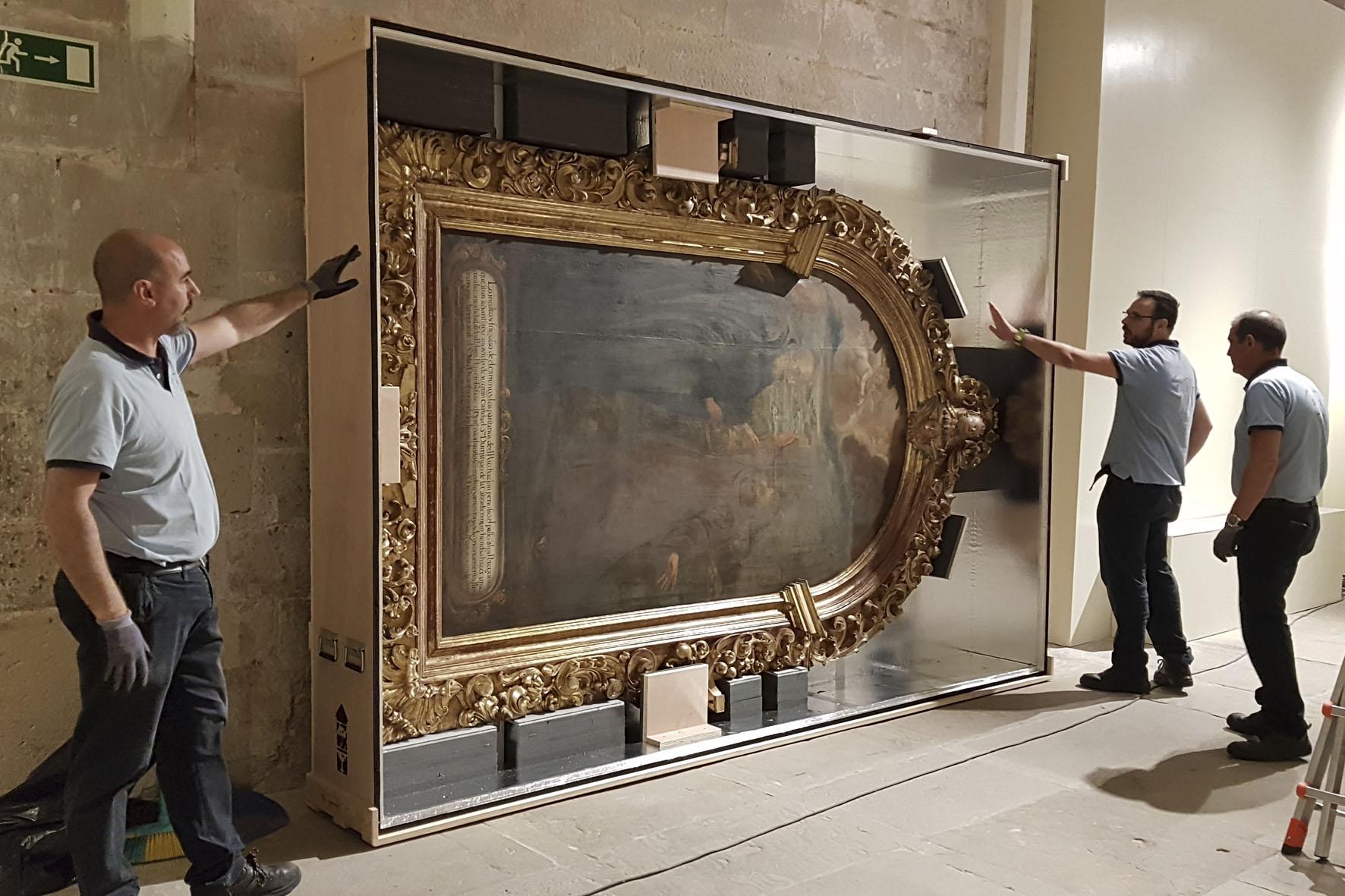 Montaje y desmontaje de exposiciones | Proyectos Culturales, gestión del patrimonio cultural