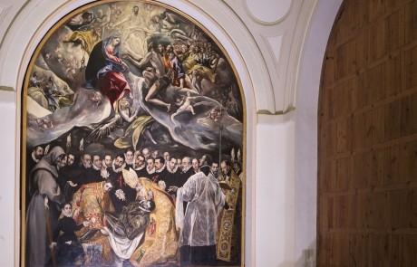 Entierro Señor Orgaz Greco Toledo - Proyectos Culturales, gestión de patrimonio cultural 1