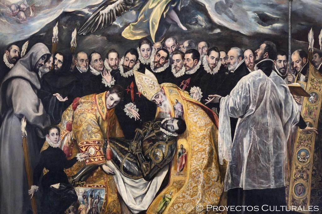 Entierro Señor Orgaz Greco Toledo - Proyectos Culturales, gestión de patrimonio cultural | Curso guías de turismo