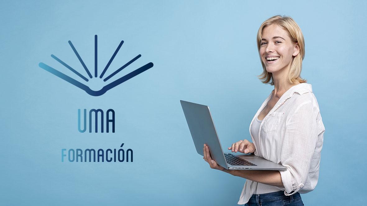 UMA formación, cursos, tutoriales gratis, elearning, teleformación